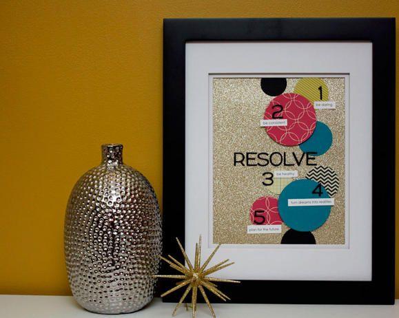 A Sparkling Resolution Reminder