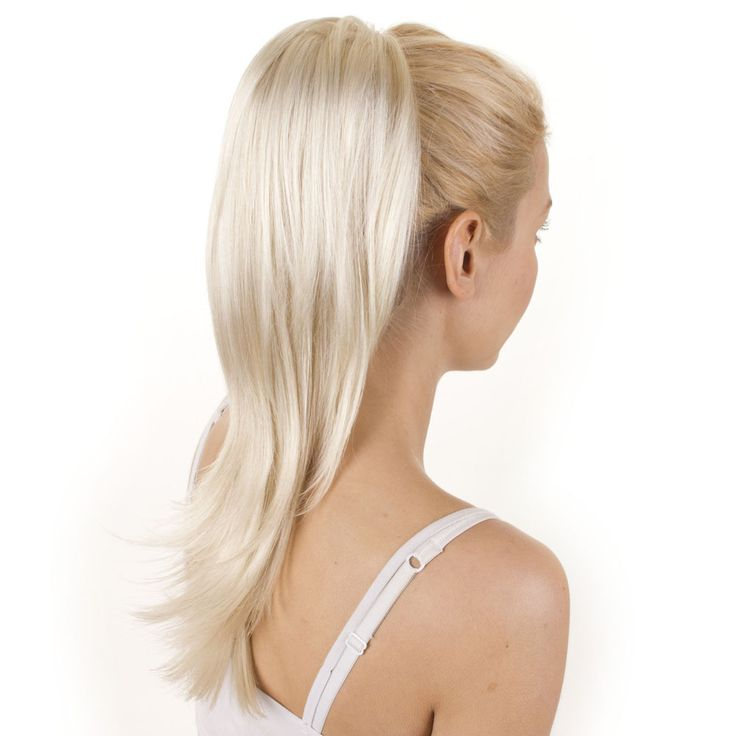 11 best hair extensions images on pinterest green ps and tape 60 white blonde human hair ponytail extensions pmusecretfo Choice Image