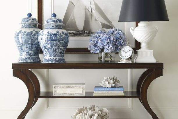 Saturday Inspiration - Blue and White
