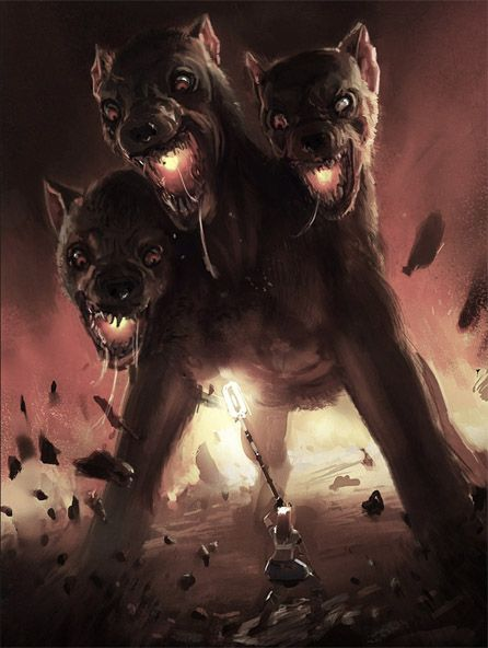 View source image cerberus pinterest view source for Dante s inferno tattoo
