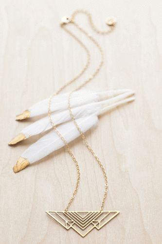 BEIJO-BRASIL-Laser-cut-raw-brass-034-Mountain-Range-034-Pendant-Necklace-misty-darling