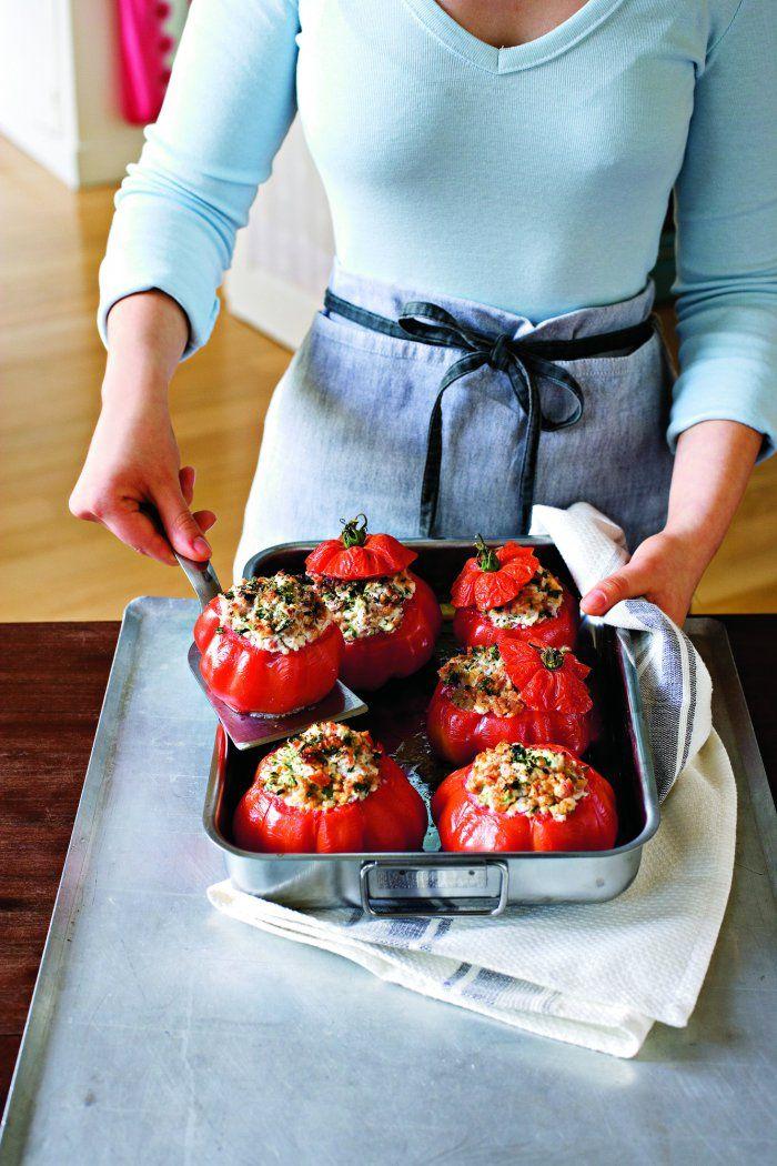 Tomates farcies à l'italienne