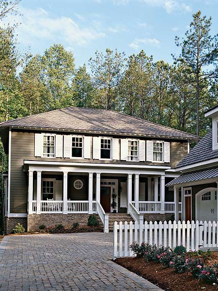 423 best images about house exterior on pinterest house for Cobblestone shutters