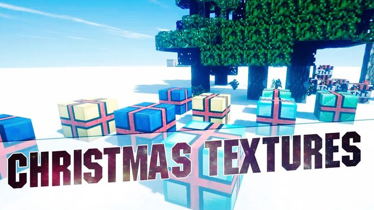 Minecraft 1.8 - Christmas Texture Pack! (Christmas Themed Resource Pack ...