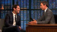 Late Night With Seth Meyers: Paul Rudd, James Anderson & Paula Pell found on Endorfyn.