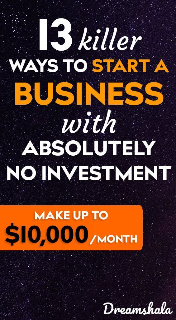 Easy Ideas To Start A Business Without