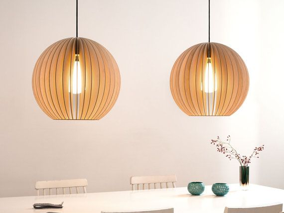 AION Wood Pendant Light Pendant Lighting Lampshades