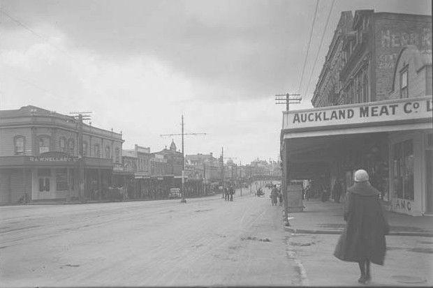 Karangahape Road, Auckland, 1923