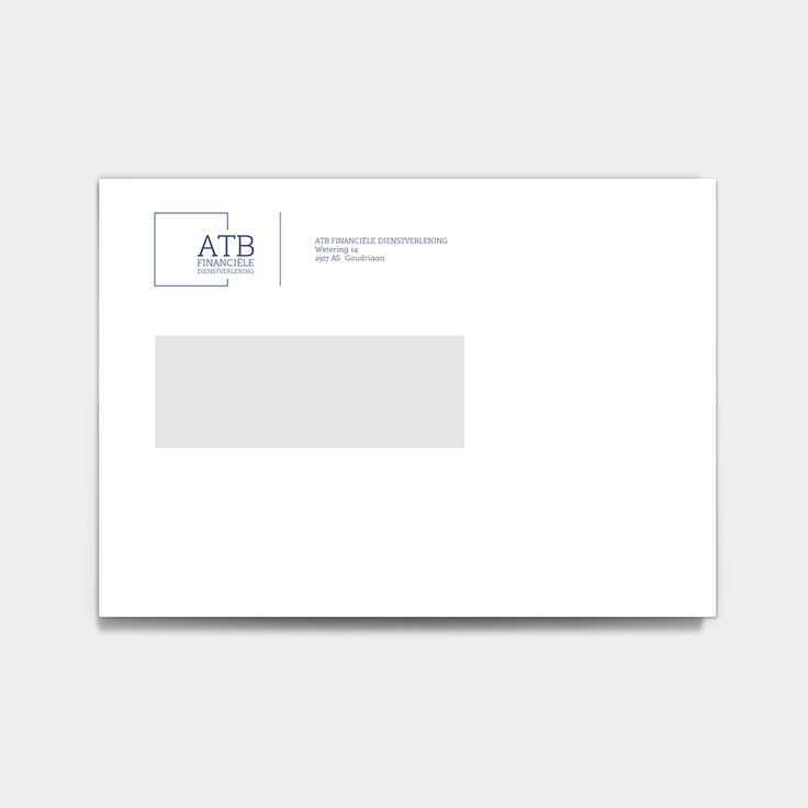 NIEN // Envelop huisstijl ATB