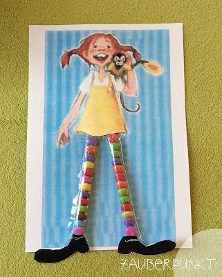 Pippi Langstrumpfs bunte Socken { DIY - auch für Kinder - mit Schokolinsen } | *ZAUBERPUNKT* | Bloglovin'