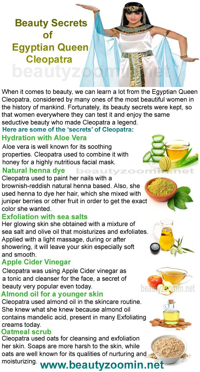 Natural Beauty Secrets of Egyptian Queen Cleopatra When it comes