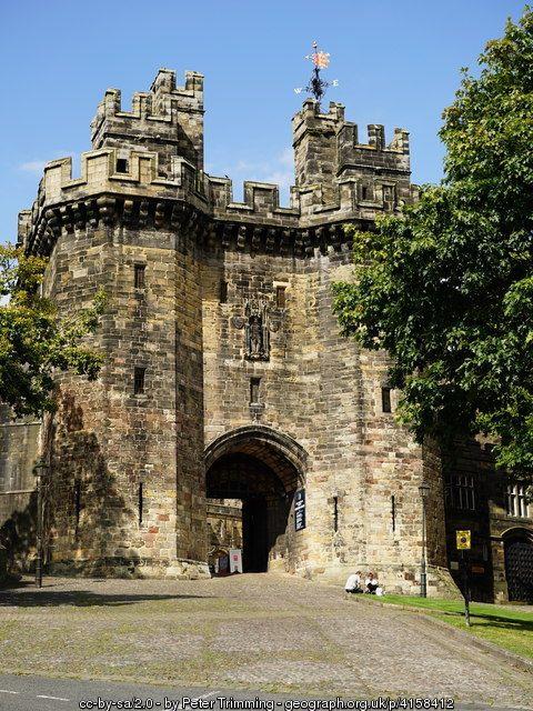 Lancaster Castle, Lancaster, Lancashire, England