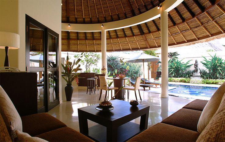 1 bedroom main living area #dusunvillas
