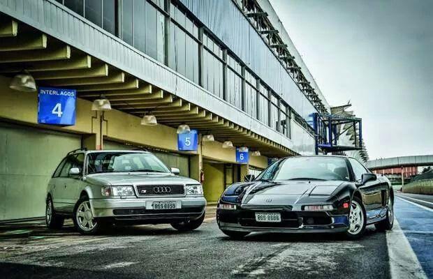 Audi s4 avant honda nsx both from ayrton senna for Garage sena auto