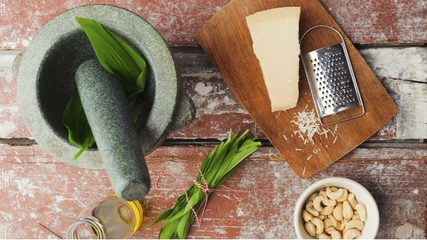 Pesto z medvědího česneku Foto: