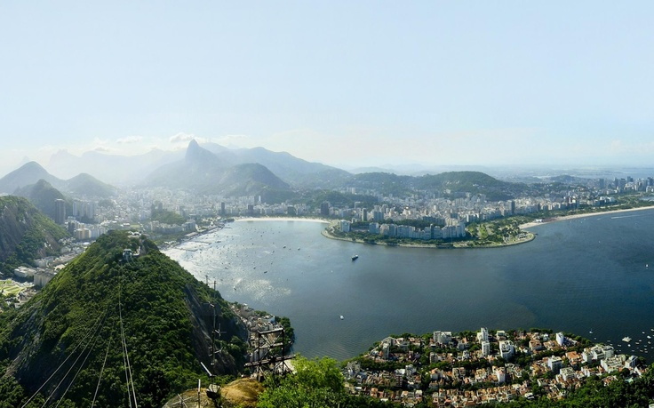 Rio de Janeiro, Brazil, view from Sugarloaf mountain (Morro do Pao da Acucar)Destinations, 15 Years Anniversaries, Dreams, Janeiro Brazil, Sugarloaf Mountain, Rio De Janeiro, View, Places, The Roller Coasters