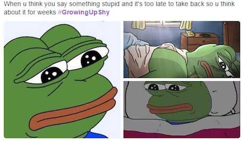 Sometimes Pepe speaks to me on a spiritual level