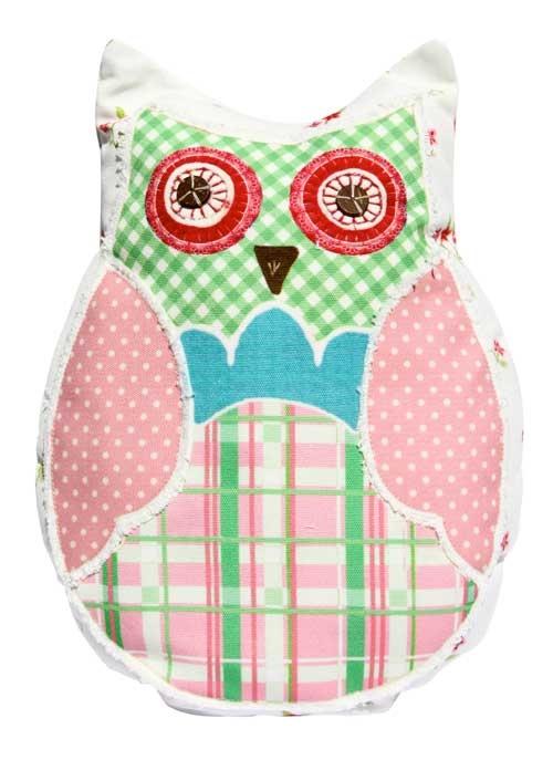 Cushion - Flower Owl $16.50