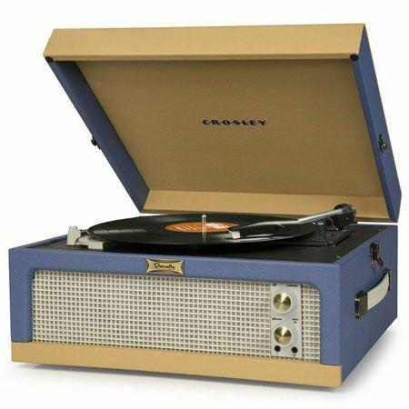New Dansette reissue: Crosley CR6234A Dansette Junior portable record player