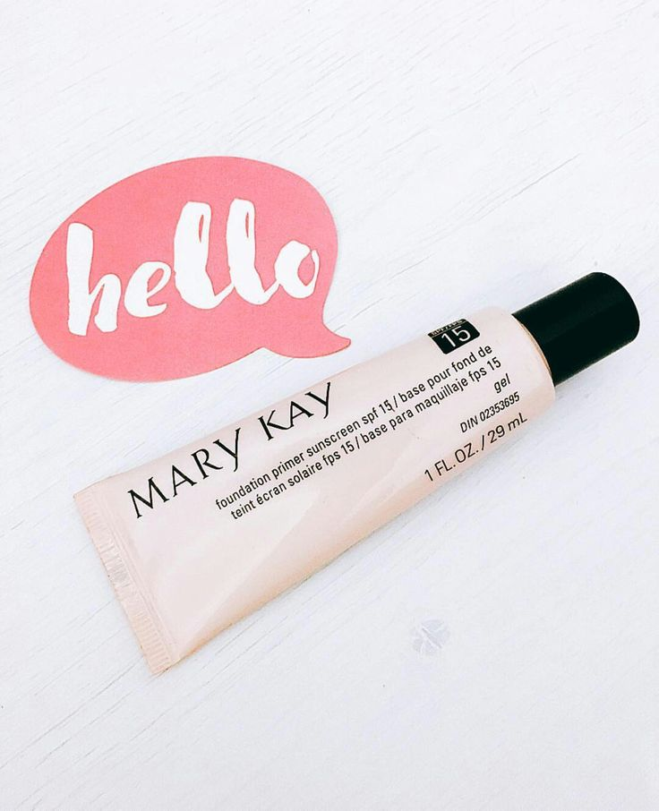 Prepare your skin for smooth and flawless coverage with Mary Kay Foundation Primer. It comes with added sunscreen SPF 15 to protect your skin from harmful UV rays. Available at www.marykay.com/alicia ❤