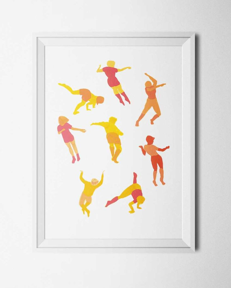Warm dance, by Felicia Fortes. Signed print available in shop.