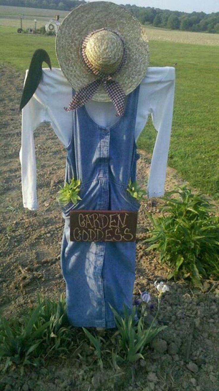 20+ Fabulous Garden Scarecrow Ideas in 2020 Scarecrows