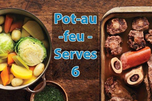Gluten Free Dinner with Pot-au-feu - http://joanrecipes.com/gluten-free-dinner-pot-au-feu.html