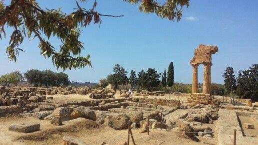 Tempio di Castore e Polluce, Valle dei Templi di Agrigento #valledeitempli templi #tempio #temple #anticagrecia #ancientgreece #agrigento #sicilia #sicily #italy