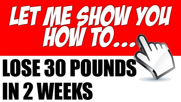 how to safely lose 30 pounds in 2 months