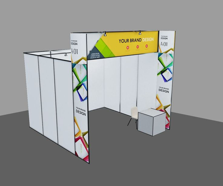 exhibition stall counter