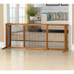 Adjustable Stand Alone Gate For The Home Pinterest