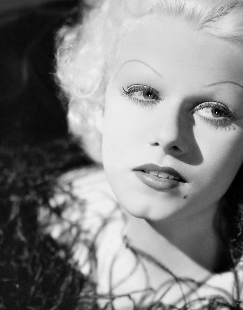 JEAN HARLOW (Double Whoopee, The New Yorker, City Lights, The Secret Six, The Public Enemy and The Platinum Blonde; died of cerebral edema resulting from renal failure in June of 1937 at the age of 26)