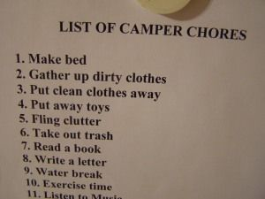 More camp ideas here
