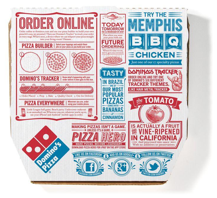 New Custom Type Family for Domino's Pizza by Monotype Studio