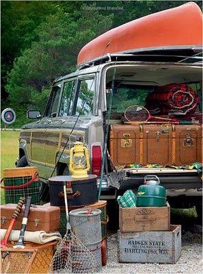 Vintage camping :)