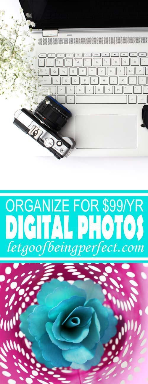 Rename, organize, and back up your digital photos for only $99 per year. Those digital photographs are priceless, don't lose them!