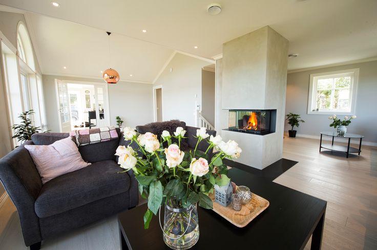 Rais stove in a romantic setting #Rais #Romantic #Home #Decor