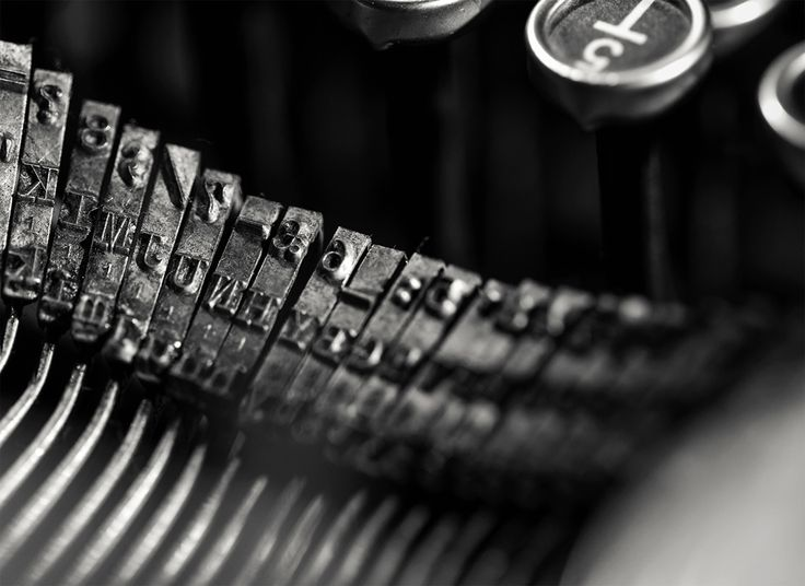 'There is nothing to writing. All you do is sit down at a typewriter and bleed' – Hemingway :: #PersolTypewriter :: http://pers.sl/du5h