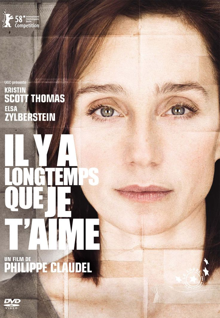 il y a longtemps que je t'aime. This is just 1 of 10 easy-to-understand French movies recommended to help improve your French. Click through for the article.