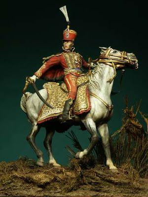 Conte Fournier Sarlovèze , Generale di Brigata , Campagna di Russia 1812 - Autore Francesco Terlizzi - Collezione Gaetano Ciotola