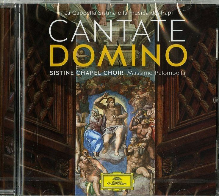 CANTATE DOMINO - SISTINE CHAPEL CHOIR - M- PALOMBELLA -  CD http://www.ebay.it/itm/CANTATE-DOMINO-SISTINE-CHAPEL-CHOIR-M-PALOMBELLA-CD-NUOVO-SIGILLATO-/231719687346?hash=item35f391d4b2