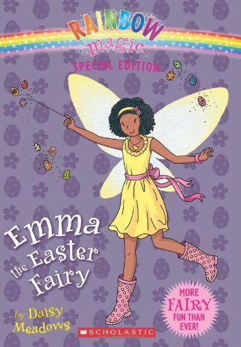Rainbow Magic Special Edition: Emma the Easter Fairy by Daisy Meadows http://smile.amazon.com/dp/0545270510/ref=cm_sw_r_pi_dp_p4evub1J5CT0J