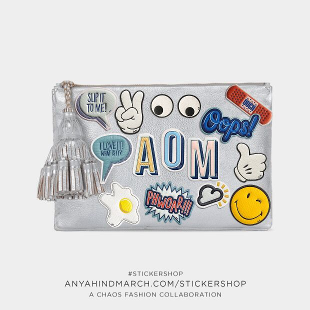 images about Anya hindmarch on Pinterest Stickers