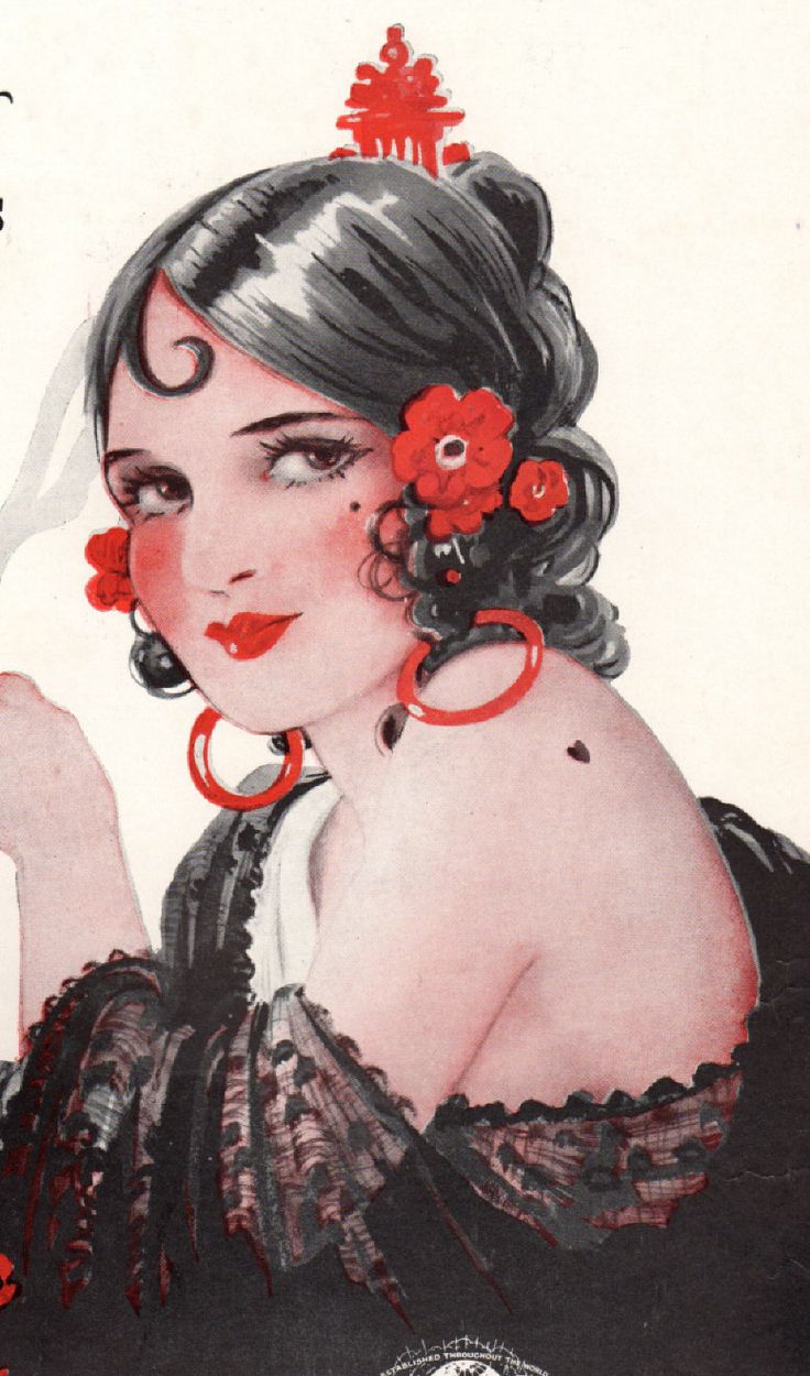 1944 Lady of Spain sheet music Spanish Senorita