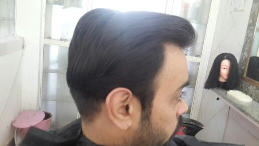 Hair style from rohit
