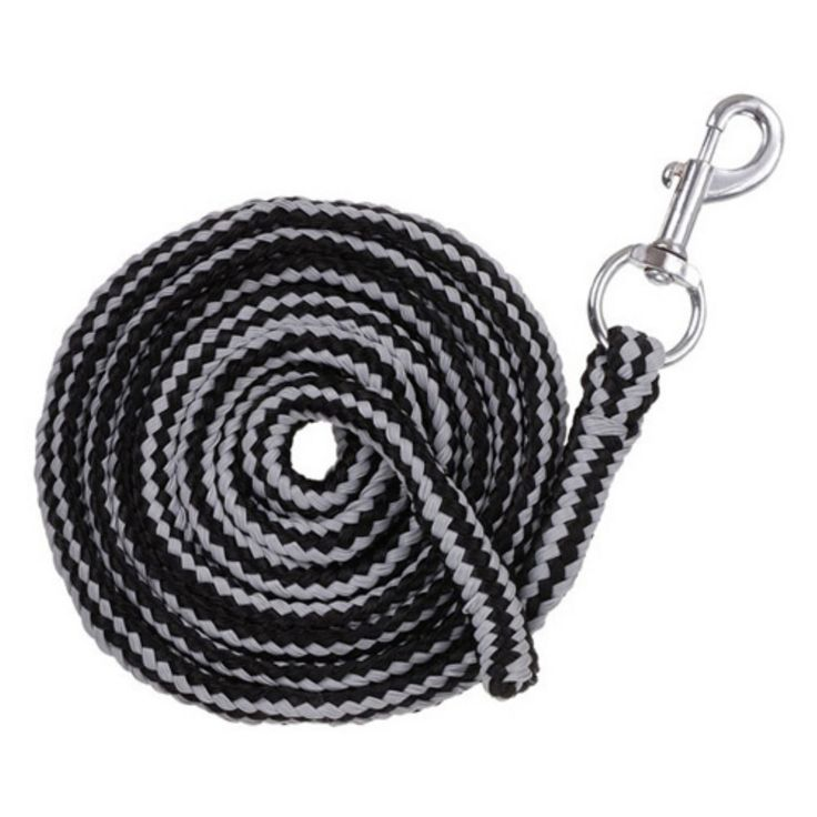 Tough-1 Multi-Color Cotton Lead with Pewter Bolt Snap - Pack of 6 - 51-99856-0-0