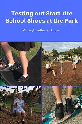 Back to School with Start-rite Shoes. Can they withstand the play park?