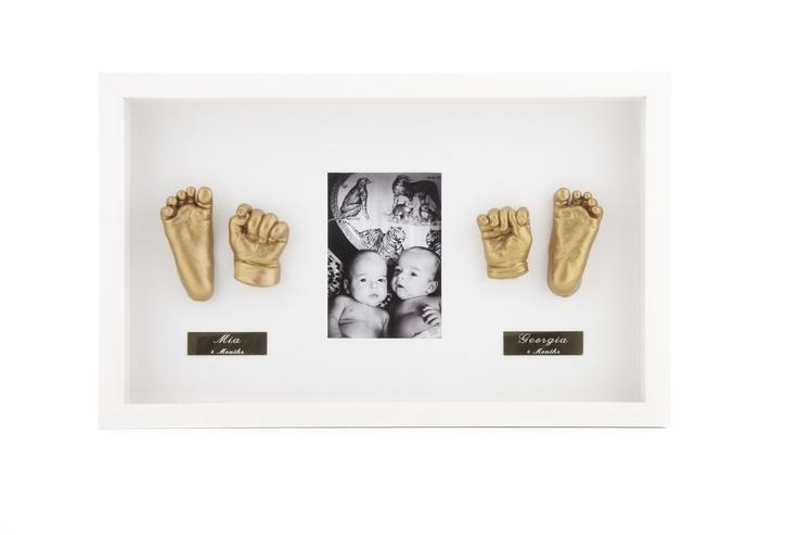 Twin Framed Sculptures