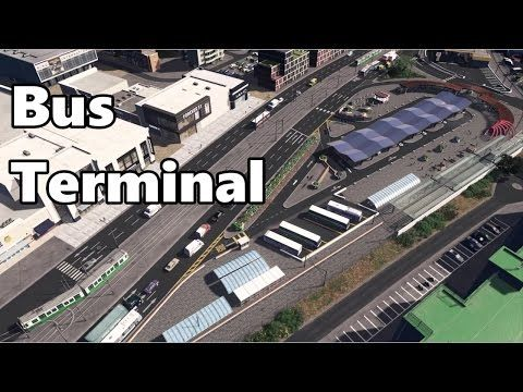 Cities Skylines: Bus Rapid Transit (BRT) Build - YouTube