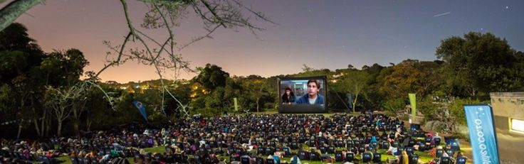 The Galileo Open Air Cinema invites Cape Town locals and visitors to the most memorable movie experience under a ceiling of stars - done